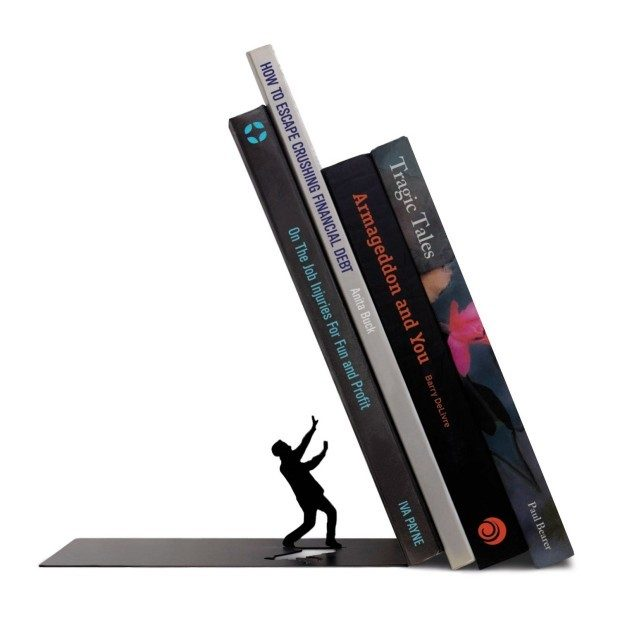 """Fred and Friends """"THE END"""" Bookends Only $13.81 (Reg. $18)!"""