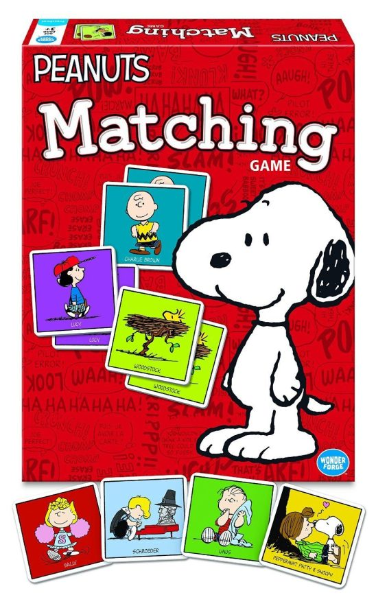 Peanuts Matching Game Only $5.99 (Reg. $9.99)!