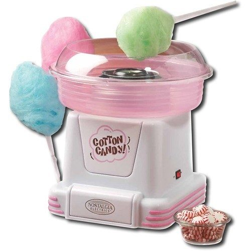 Nostalgia Electrics Hard Candy Cotton Candy Maker Just $24.99 Down From $49.99 At Best Buy!