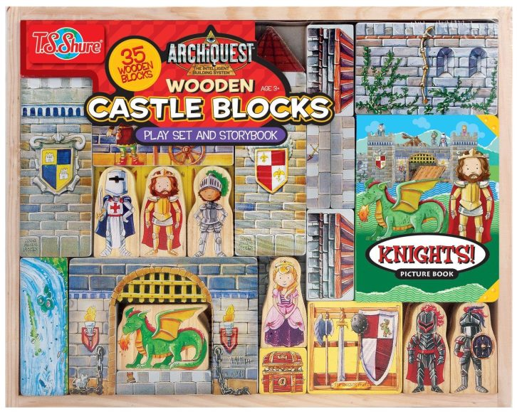 T.S. Shure Archiquest Wooden Castle Blocks Playset and Storybook Building Kit Only $15.07 (Reg. $39.99)!