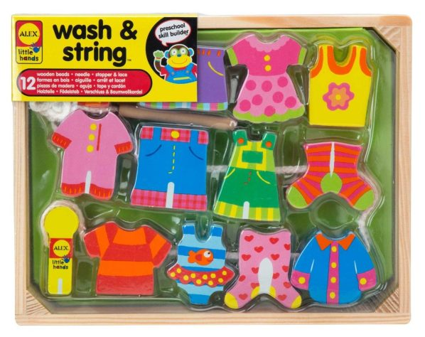 ALEX® Toys - Early Learning Wash & String - Little Hands