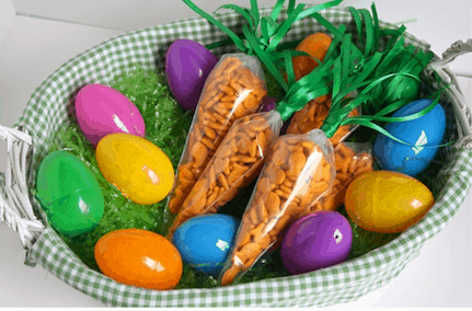 Cute And Easy DIY Easter Basket Carrots!