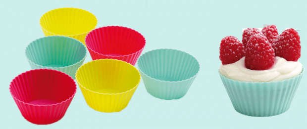6 FREE Silicone Baking Cups!