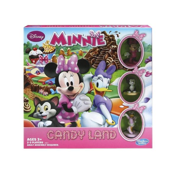 Candy Land Game Disney Minnie Mouse's Sweet Treats Edition