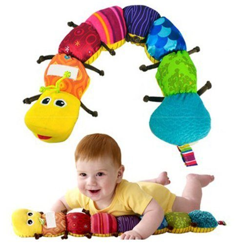 Colorful Musical Inchworm Developmental Baby Toy Just $6.34 + FREE Shipping!
