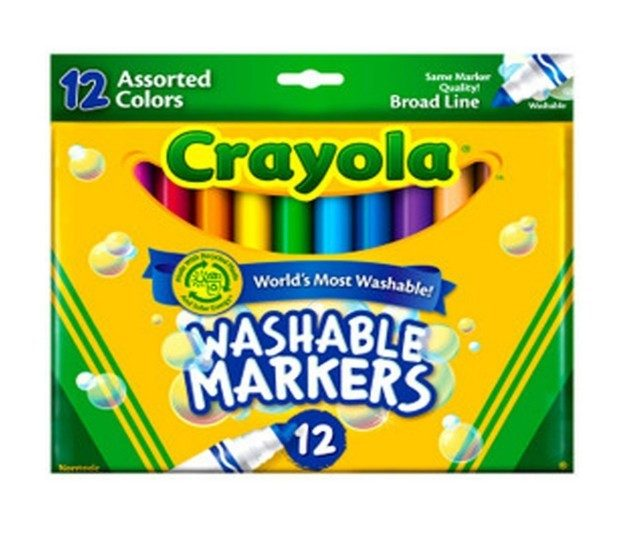 Crayola Ultraclean Washable Markers Color Max 12 count Just $2.59! (reg. $9.99)