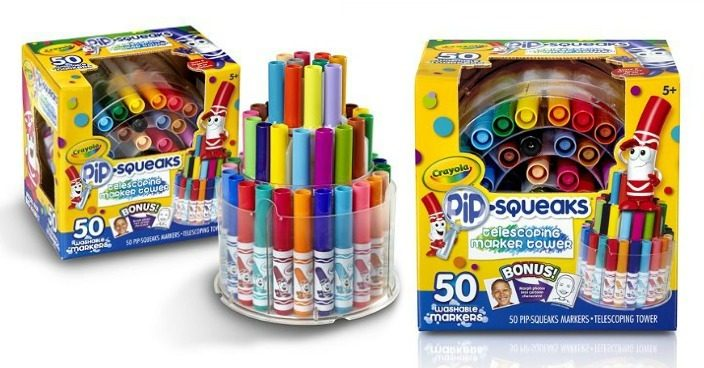 Crayola Telescoping Marker Tower Just $10.77! Down From $22!