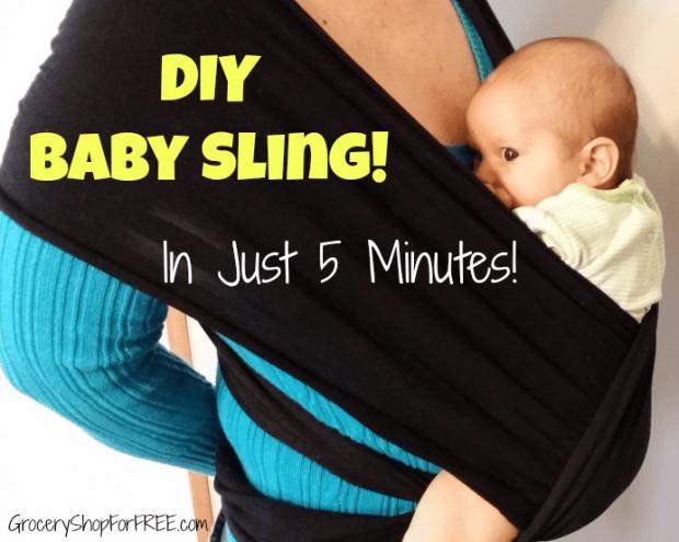 DIY Baby Sling FB