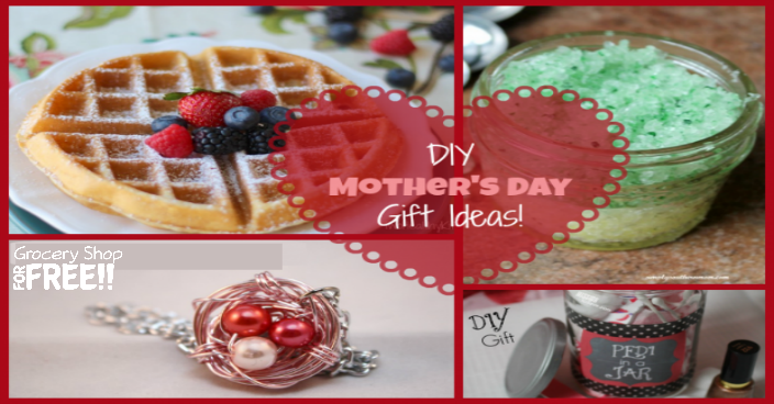14 DIY Mother's Day Gift Ideas!
