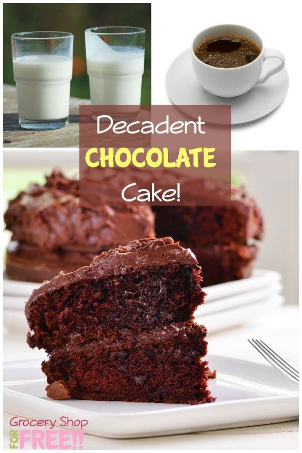 Decadent Chocolate Cake!
