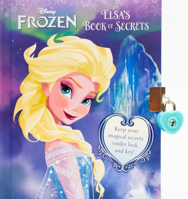 Disney Frozen: Elsa's Book of Secrets Just $4.44 + FREE Shipping with Prime!