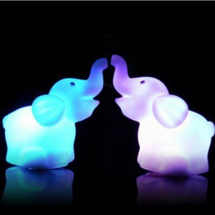 Elephant LED Night Light Only $3 + FREE Shipping!