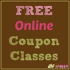 FREE Online Coupon Classes!  Reserve Your Spot NOW!