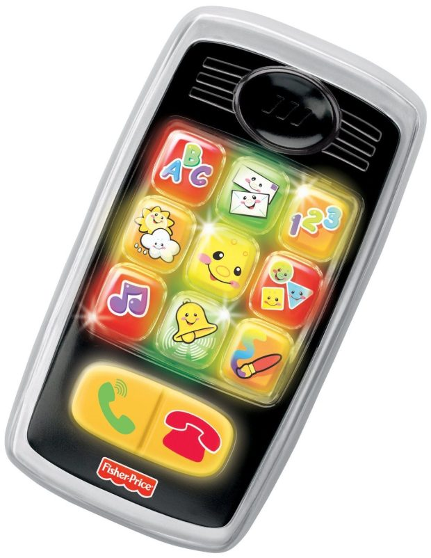 Fisher-Price Laugh & Learn Smilin' Smart Phone Just $4.22!