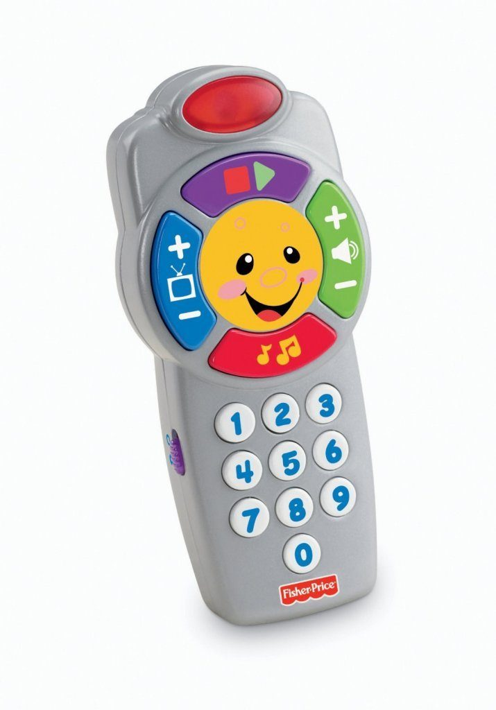 Fisher-Price Laugh and Learn Click'n Learn Remote Just $6.89!
