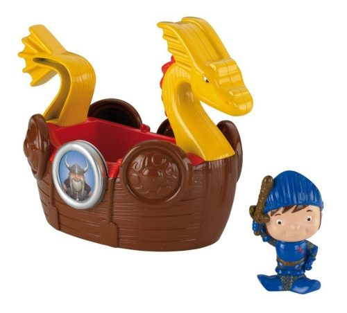 Fisher-Price Mike The Knight Bath Viking Adventure Ship