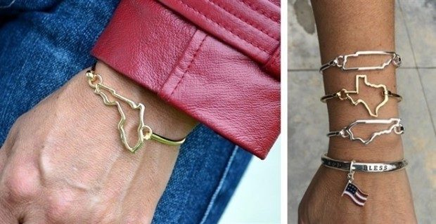 Fall Special - Flag & State Bangles Only $6.99!