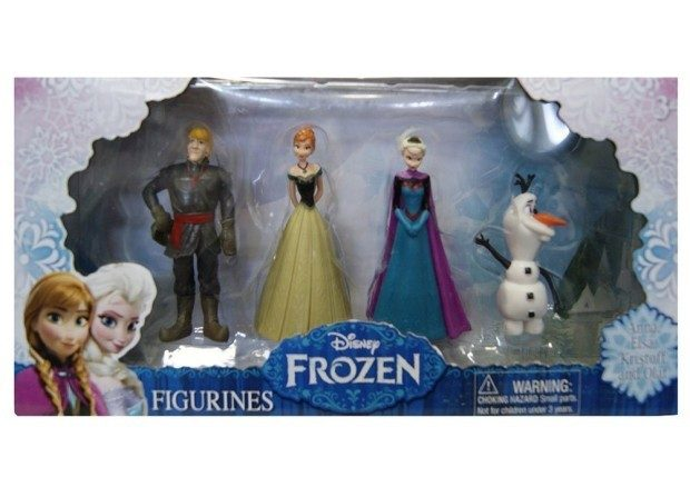 Frozen Olaf, Anna, Elsa, Kristoff Figure (4-Pack) Just $6.97!