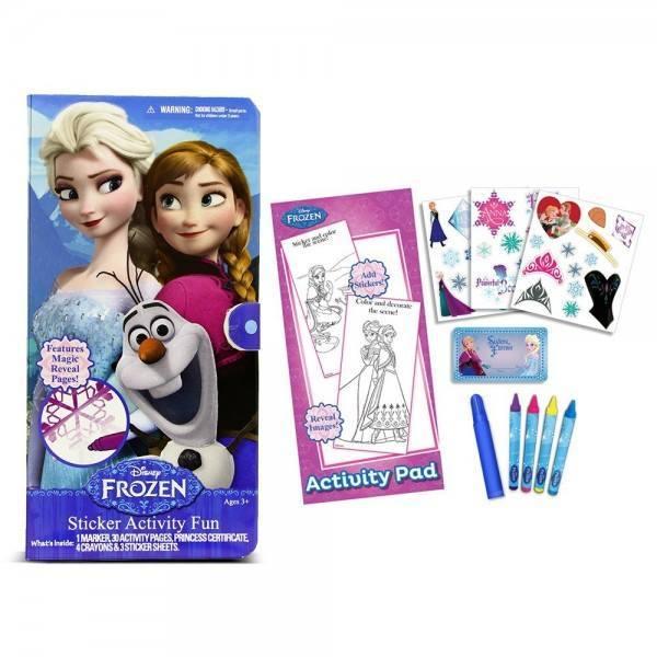 Frozen Sticker Activity Fun Kit Just $3.99!