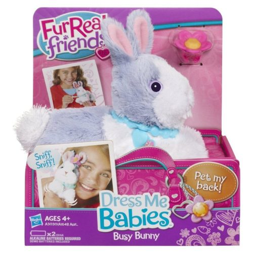 FurReal Friends Dress Me Babies Busy Bunny Pet