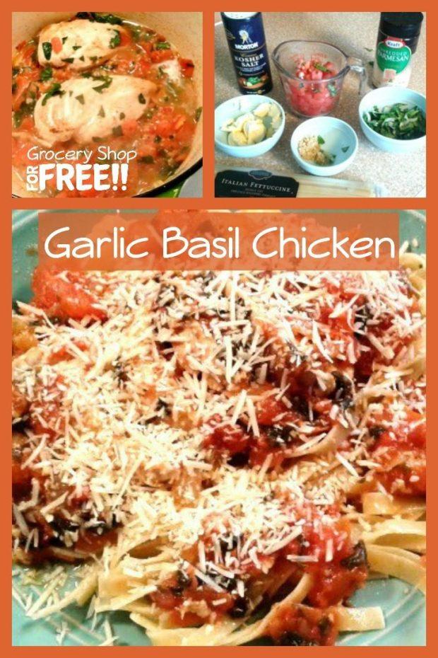 Garlic Basil Chicken
