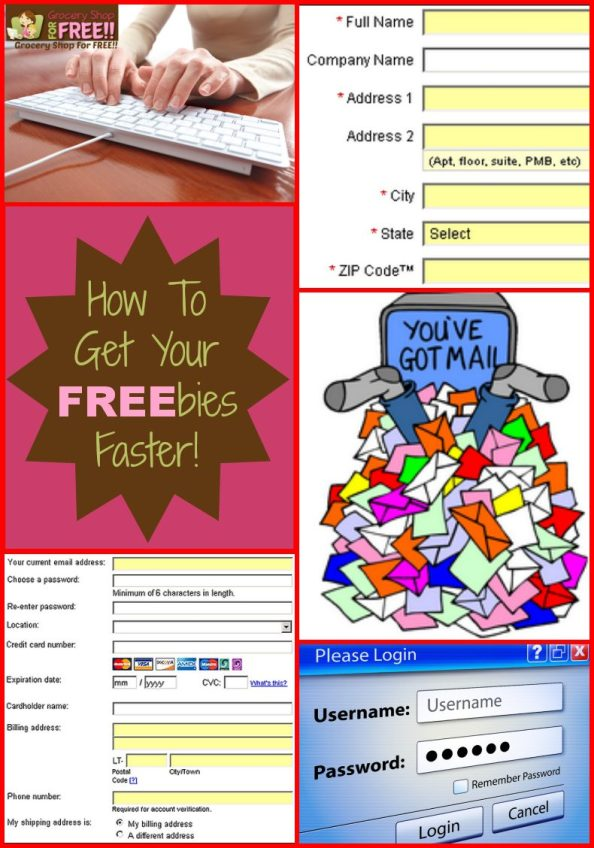 How To Get Your FREEbies Faster!