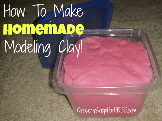 How To Make Homemade Modeling Clay