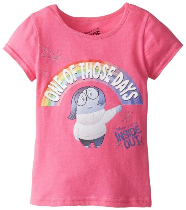 Little Girls Inside Out Tee Starting At $6.39!