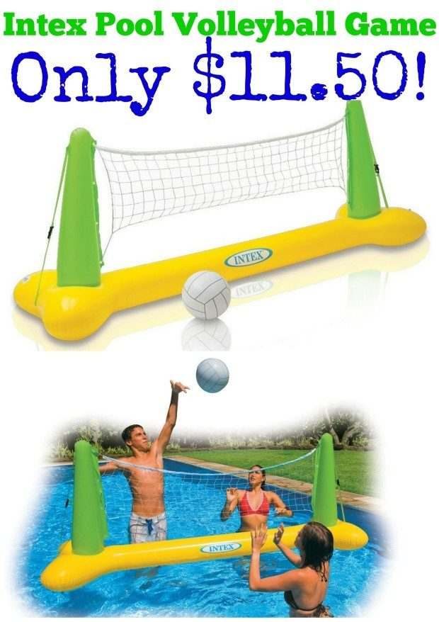 Intex Pool Volleyball Game Only $11.50!