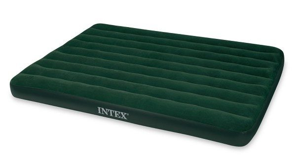 Intex Prestige Downy Airbed Kit with Hand Held Battery Pump $13.66 + FREE Shipping with Prime!