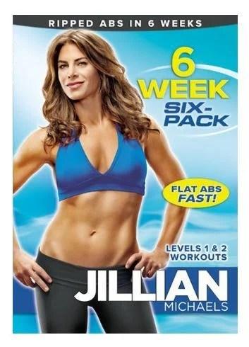 Jillian Michaels: 6 Week Six-Pack $6.93!