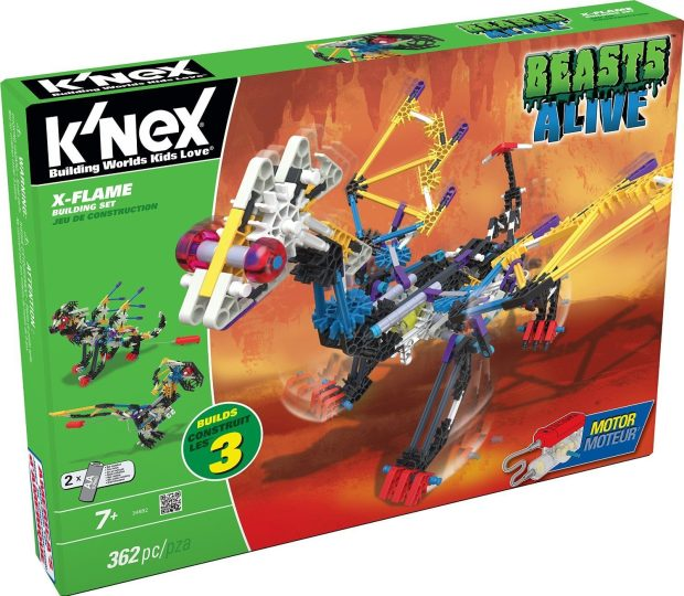 K'NEX Beasts Alive X-Flame Building Set Just $20! (reg. $39.99)