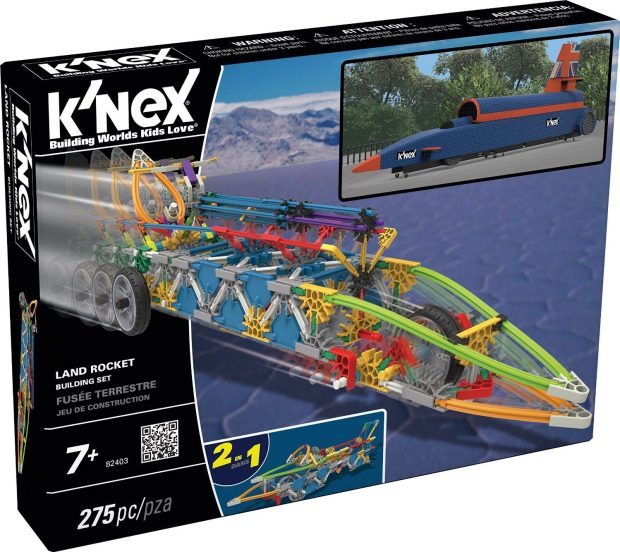 K'NEX Land Rocket Building Set Just $10.68!