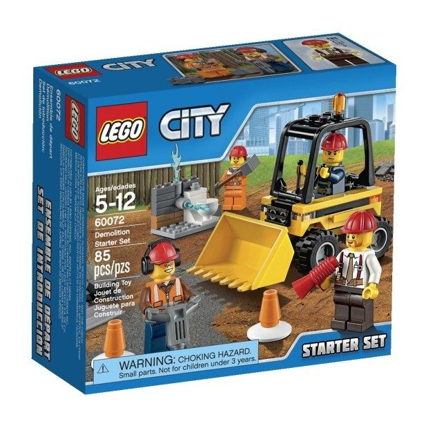 LEGO City Demolition Starter Set Just $7.99! (reg. $11.99)