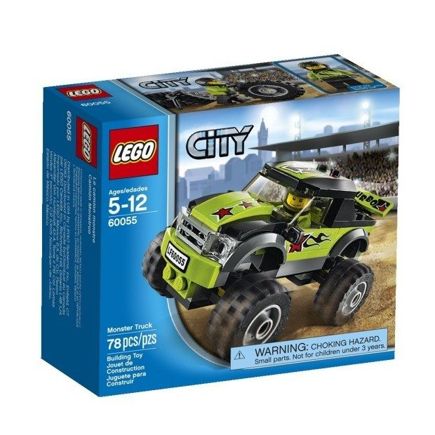 LEGO City Great Vehicles Monster Truck $8.97 + FREE Shipping with Prime!