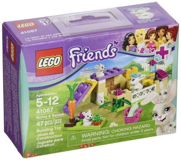 LEGO Friends Bunny and Babies $3.99 + FREE Shipping with Prime!
