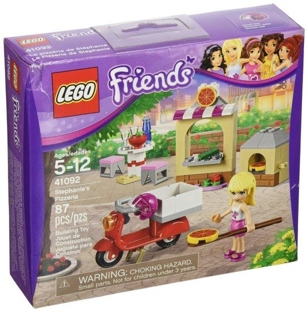 LEGO Friends Stephanie's Pizzeria $7.99 + FREE Shipping with Prime!