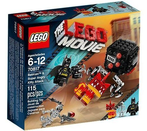 LEGO Movie Batman and Super Angry Kitty Attack Block $9.29!
