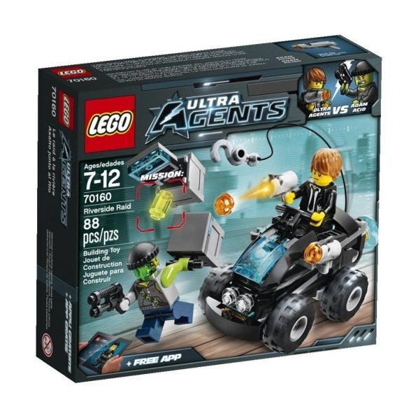 LEGO Ultra Agents Riverside Raid$9.59 + FREE Shipping with Prime!