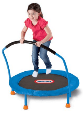 Little Tikes 3' Trampoline Just $41.99 Down From $79.99!  FREE Shipping!
