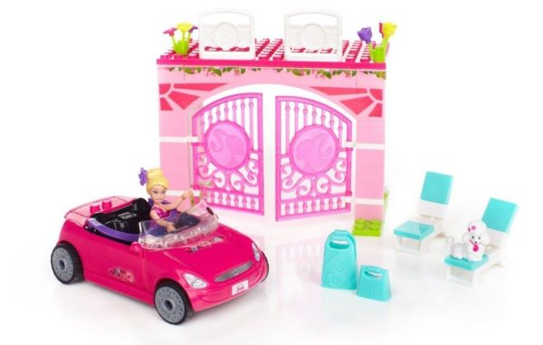Mega Bloks Barbie Convertible $7.59 + FREE Shipping with Prime!
