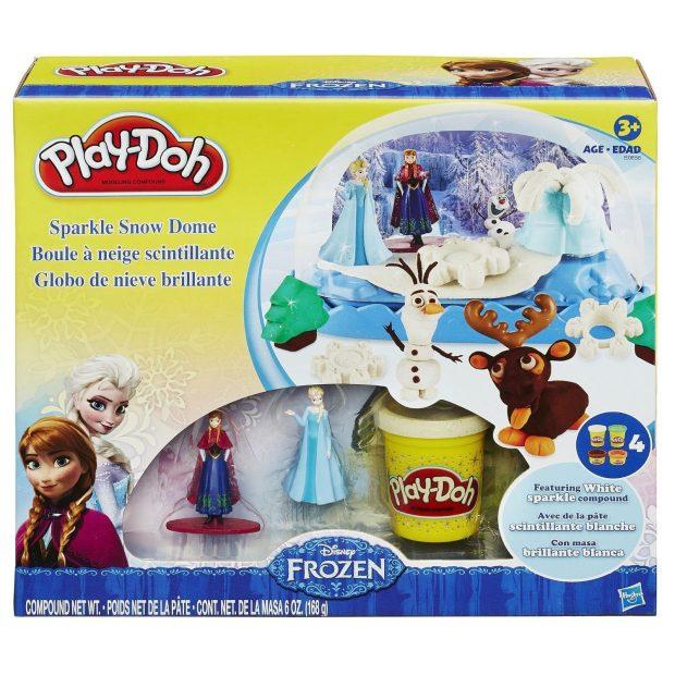 Play-Doh Disney Frozen Sparkle Snow Dome Set Just $7.99!
