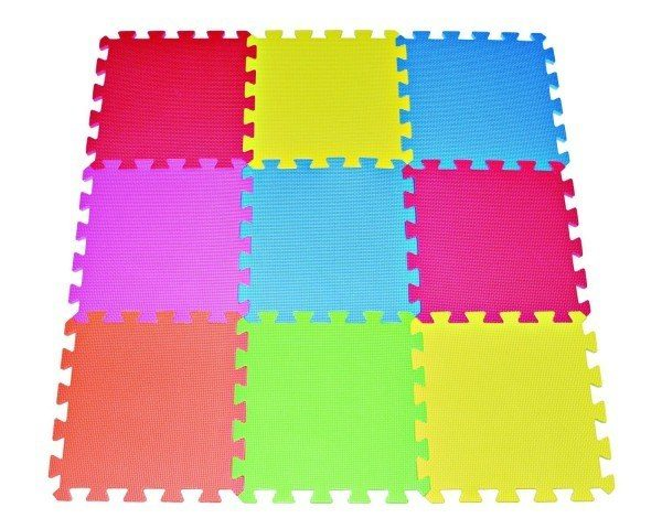 Multi-color Playmat Kids Safety Play Floor Just $11.88!