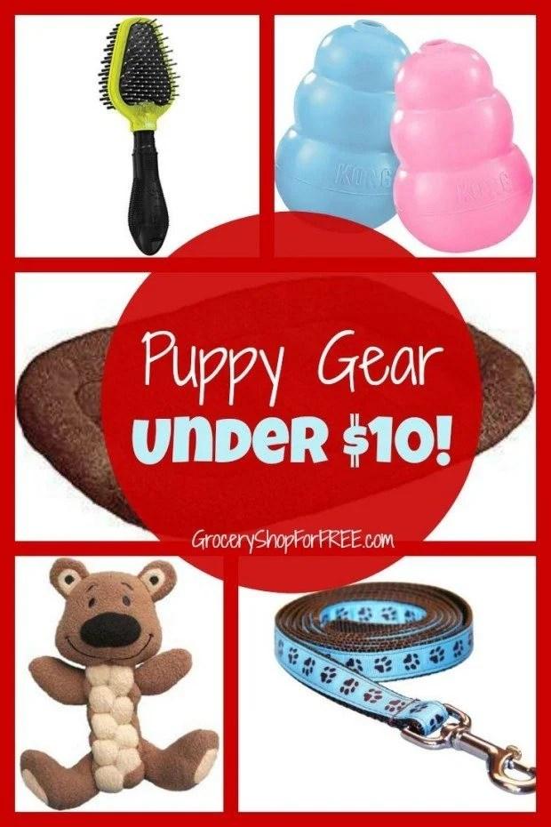 Puppy Gear Under $10