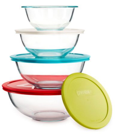 Pyrex 8-Piece Mixing Bowl Set Only $13.99! Down From $40!