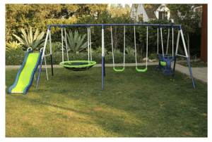 Sportspower Rosemead Metal Swing and Slide Set Only $169.16 (Reg. $299.99)!