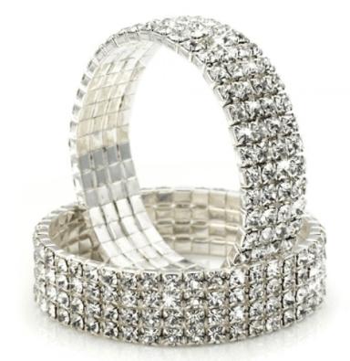 FREE 25 Carat Swarovski Crystal Stretch Bracelet (Reg. $60)!