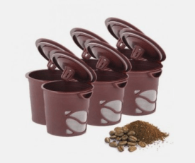 6 Pack Reusable Single Brew Coffee Pods Just $9.99 Shipped (Reg. $19.99)!