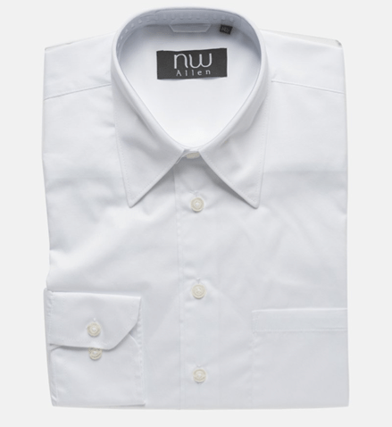 NW Allen Stain Resistant White Oxford Dress Shirt Only $9.99 + FREE Shipping (Reg. $39.99)!