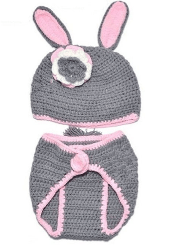Crocheted Baby Bunny Rabbit Costume Only $5.77 + FREE Shipping!